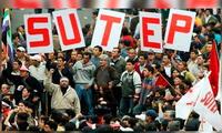Sutep pide mejoras en infraestructura en el sector educación