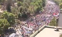 Paro y huelga nacional en Chile