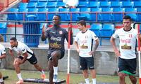 Selección peruana entrena en Estados Unidos