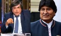 Jaime Bayly habló en su programa sobre Evo Morales que vendía droga al Cártel de Sinaloa