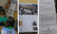 Profesor enseña Historia del Perú con perfiles de Facebook a estudiantes de Ica