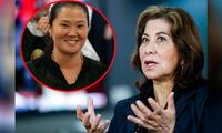 Martha Chávez se pronunció sobre liberación de Keiko Fujimori