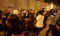 Simpatizantes aguardan la liberación de Keiko Fujimori Higuchi