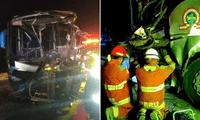 Las víctimas del accidente fueron trasladados al Hospital de Chilca