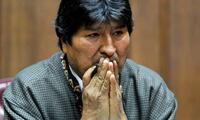 Morales se encuentra actualmente como asilado político en México
