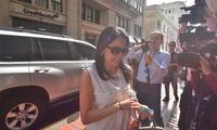 Nadine Heredia acudió a la Fiscalía por el Gasoducto Sur Peruano