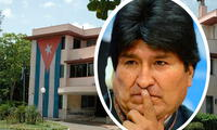 Evo Morales afirmó que su viaje a Cuba sería temporal