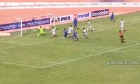 Ángel Ojeda le dio el empate a Binacional en los primeros 45 minutos