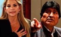 Evo Morales en contra del gobierno de Jeanine Áñez