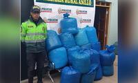 Rápida intervención de la policía de Puno logró capturar a presuntos narcotraficantes