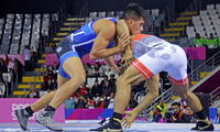 Nilton Soto, en la categoría 67 kg ganó medalla de bronce