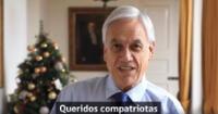 Sebastián Piñera mandó mensaje por Año Nuevo