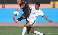 Pacheco jugó hoy con la sub 23 ante El Salvador