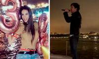 Silvia Cornejo: Su pareja Jean Paul Gabuteau le canta romántico tema por su cumpleaño