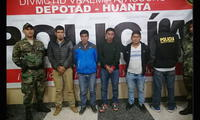 128 kg de cocaína eran trasladados por 4 personas en Ayacucho [FOTO]