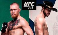 No te pierdas la gran pelea entre McGregor vs. Cerrone por la UFC 246