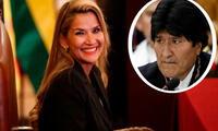 Evo Morales se pronunció sobre la candidatura de Áñez en Twitter