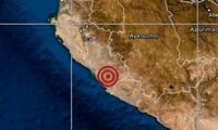 El movimiento telúrico se localizó a 45 kilómetros en las costas de Nasca