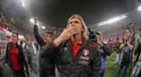 Ricardo Gareca no ocultó su emoción con la clasificación al Mundial