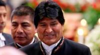 Evo Morales viajó a Cuba