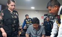 """Detienen a quince integrantes de """"Los Topos"""" en Trujillo"""