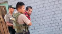 Sujeto que estaba haciendo disturbio fue llevado a la comisaría de la zona