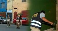 Operativo de la DIVIAC y la Fiscalía tienen como sospecha a varios empresarios de La Victoria
