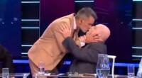 Horacio Pagani se besa en vivo y sorprende a toda la Argentina.