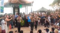 Policías realizan canciones con letras reflexivas sobre la violencia de la mujer
