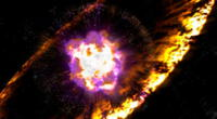 La constelación está localizada a aproximadamente 700 años luz de la Tierra.