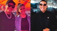 Daddy Yankee elogia a Yahaira Plasencia.