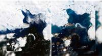 La isla Águila experimentó un derretimiento de un total de 106 milímetros
