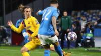 Sigue todas las incidencias del Napoli vs Barcelona por El Popular