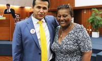 Doña Peta junto a Paolo Guerrero en una buena causa contra el cáncer infantil