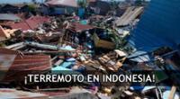 La Agencia de Meteorología, Climatología y Geofísica de Indonesia (BMKG) informó que la magnitud del sismo fue de 6.7.
