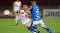 Cusco FC y Audax Italiano disputaron un intenso partido en el Nacional de Santiago | Foto: @ElDeportivoLT