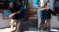 El video generó indignación en las redes sociales.