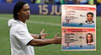 El exfutbolista brasileño Ronaldinho Gaúcho y uno de sus hermanos son detenidos por la Policía de Paraguay en Asunción.