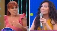 Magaly Medina no esperaba tener este rating tras discutir en vivo con Janet Barboza.