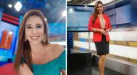 """Verónica Linares sorprendió a todo el equipo de """"América Noticias"""" con el anuncio."""