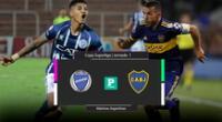 Wilder Cartagena será titular y enfrentará por segunda vez a Boca Juniors.