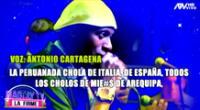 Antonio Cartagena se defiende