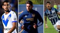 Luis Abram, Carlos Zambrano y Wilder Cartagena son los peruanos que juegan en el fútbol argentino.