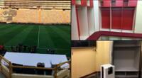 El estadio Monumental está listo para recibir enfermos de coronavirus.