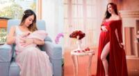 Melissa Loza comparte tiernas fotografías junto a su bebé