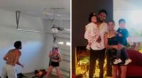 Pedro Gallese y su esposa comparten más momentos por el aislamiento.
