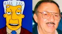 Gonzalo Curiel es recordado por prestar su voz a Kent Brockman de Los Simpson
