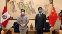 Andrés Hurtado entrevistó al embajador de China.