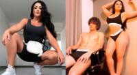 Michelle Soifer y Giuseppe Benignini publican sexys fotos.