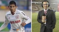 Edison Flores confesó que revive partido que jugó en la U con la voz de Daniel Peredo.